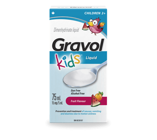 Gravol Kids Liquid Gravol